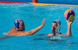 Sandro Sukno of Croatia vs Filip Filipovic of Serbia during waterpolo Semifinal Round match between National teams of Croatia and Serbia during the 13th FINA World Championships Roma 2009, on July 30, 2009, at the Stadio del Nuoto,  Foro Italico, Rome, Italy. Serbia won 12:11. (Photo by Vid Ponikvar / Sportida)