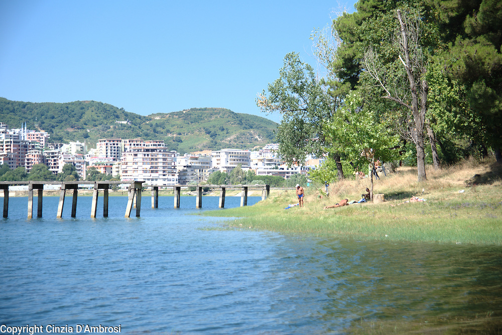 The Park of Artificial Lake lies on the south part of the city of Tirana.