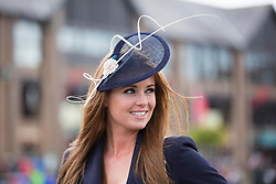 Repro Free: Punchestown 01/05/2014 Rachel Clarke pictured at Day 3 of the Punchestown Racing Festival. Picture Andres Poveda