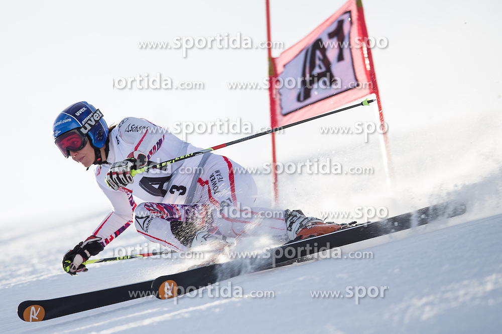 19.10.2012, Rettenbachferner, Soelden, AUT, OeSV, interne Qualifikationslauefe, im Bild Stefanie Wopfner (AUT) // Stefanie Wopfner of Austria during Qualifying of the Austrian Ski Team 'OeSV' at Rettenbachferner in Soelden, Austria on 2012/10/19. EXPA Pictures © 2012, PhotoCredit: EXPA/ J. Groder