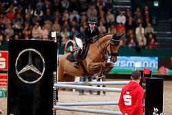 KONTIO Anna-Julia (FIN), Cooper<br /> Leipzig - Partner Pferd 2018   <br /> Internationale Zeitspringprüfung Preis des Stern Auto Center<br /> © www.sportfotos-lafrentz.de/Stefan Lafrentz