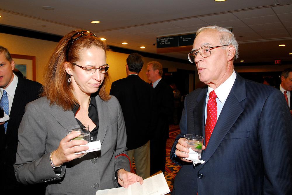 Jeffrey B. Kindler - Chairman and CEO of Pfizer Inc., addresses the members of the Economic of Washington at the Renaissance Hotel Washington DC
