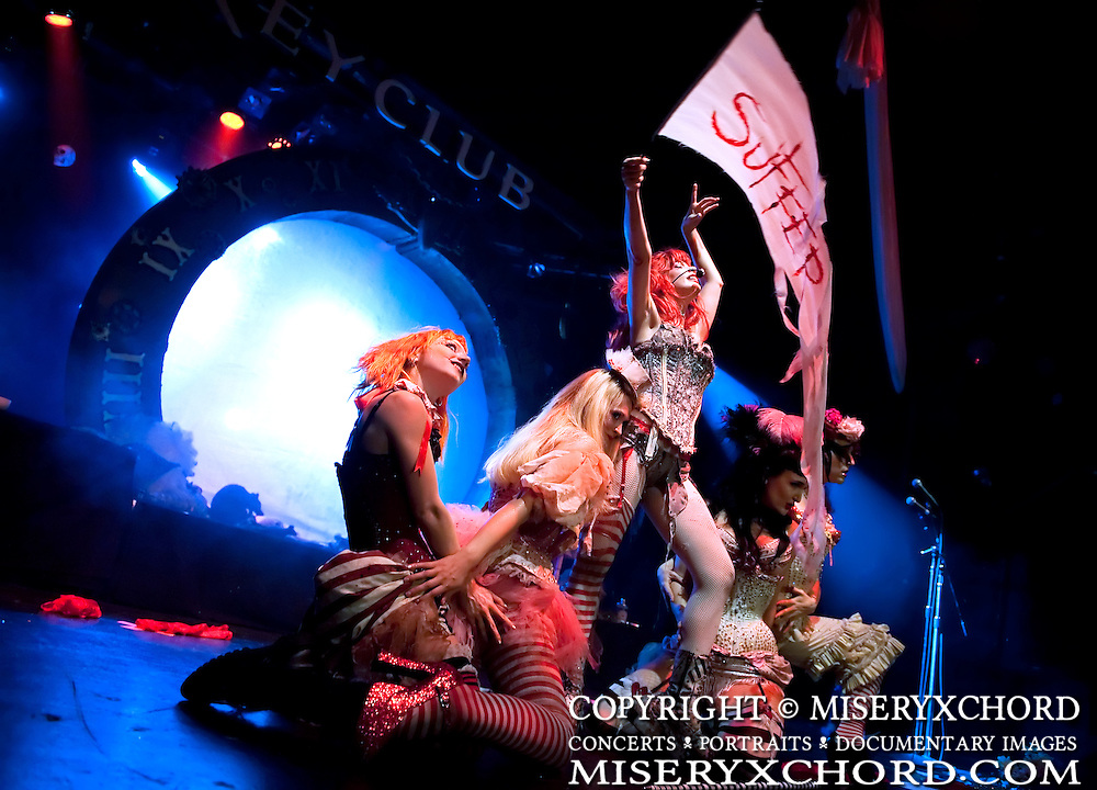 Emilie Autumn and the Bloody Crumpets perform at Key Club in West Hollywood. California USA on October 25