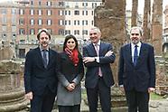 20190218 - Conf. Stampa restauro Largo Argentina Maison Bulgari r