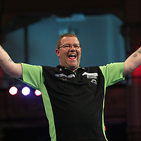 PDC WORLD MATCHPLAY 2017, DARTS, PDC, PDC DARTS, PIC : CHRIS SARGEANT,STEVE WEST, MICHAEL SMITH, TIP TOP PICS, WEST 10-5 SMITH
