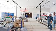 Construction du Théatre Marie Chapdelaine - Desjardin,   /  Dolbeau-Mistassini, / Canada / 2008-08-12
