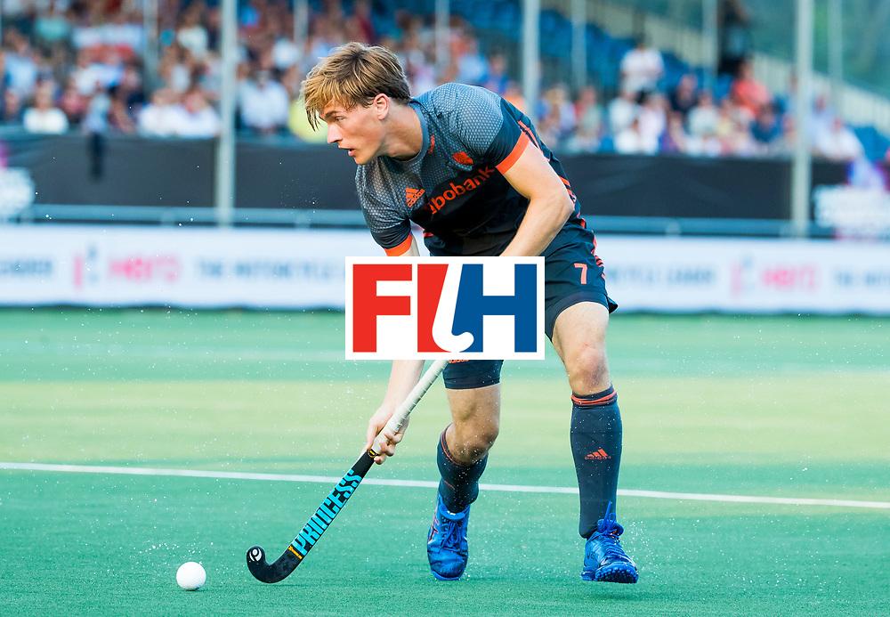 BREDA - Thijs van Dam (Ned)   tijdens Nederland- Australie bij  de Hockey Champions Trophy.  COPYRIGHT KOEN SUYK