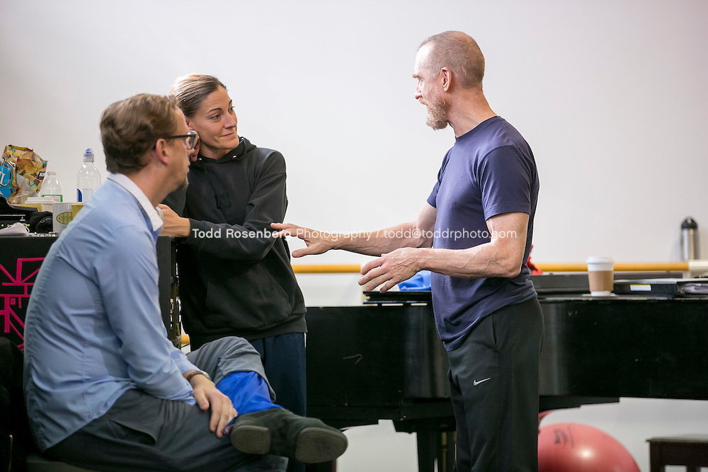 10/2/15 3:18:31 PM -- Hubbard Street Dance Chicago <br /> <br /> Choreographer William Forsythe in studio with the main company. <br /> <br /> . &copy; Todd Rosenberg Photography 2015