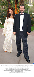 Owner of Minardi racing team PAUL STODDART and MISS SUE ASTON, at a ball in Monaco on 31st May 2003.PKA 35