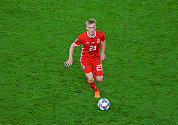 CARDIFF, WALES - Thursday, September 6, 2018: Wales' Matthew Smith during the UEFA Nations League Group Stage League B Group 4 match between Wales and Republic of Ireland at the Cardiff City Stadium. (Pic by Laura Malkin/Propaganda)