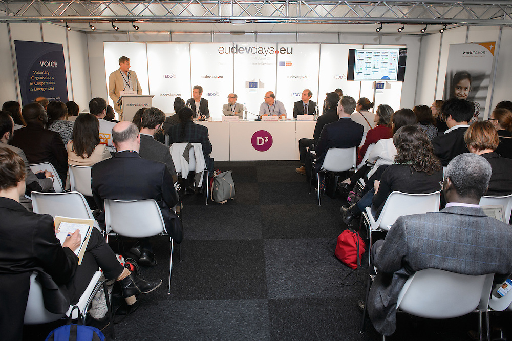 03 June 2015 - Belgium - Brussels - European Development Days - EDD - Climate - Disaster risk reduction , resilience , climate change adaptation - Connecting the dots © European Union
