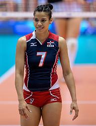 17-05-2016 JAP: OKT Dominicaanse Republiek - Italie, Tokio<br /> Italië verslaat Dominicaanse Republiek  met 3-0 / Niverka Dharlenis Marte Frica #7