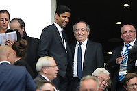 Nasser Al Khelaifi / Noel Le Graet - 30.05.2015 - Auxerre / Paris Saint Germain - Finale Coupe de France<br />Photo : Andre Ferreira / Icon Sport