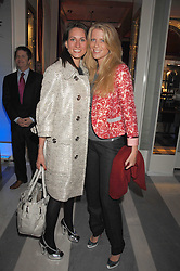 Left to right, LARA SINCLAIR and FRANCESCA NARDI at a preview of Garrard's new collections and celebrates a Kaleidoscope of Colour at Garrard, 24 Albemarle Street, London on 10th May 2007.<br />