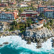 Aerial view of Welk hotel Los Cabos, Mexico.