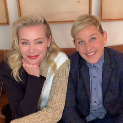 """Ellen DeGeneres releases a photo on Instagram with the following caption: """"Tag a friend who should watch #GameofGames tonight. I'll tag @portiaderossi."""". Photo Credit: Instagram *** No USA Distribution *** For Editorial Use Only *** Not to be Published in Books or Photo Books ***  Please note: Fees charged by the agency are for the agency's services only, and do not, nor are they intended to, convey to the user any ownership of Copyright or License in the material. The agency does not claim any ownership including but not limited to Copyright or License in the attached material. By publishing this material you expressly agree to indemnify and to hold the agency and its directors, shareholders and employees harmless from any loss, claims, damages, demands, expenses (including legal fees), or any causes of action or allegation against the agency arising out of or connected in any way with publication of the material."""