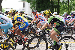 Rachele Barbieri (Cylance Pro Cycling) - Tour of Chongming Island 2016 - Stage 1. A 139.8km road race on Chongming Island, China on May 6th 2016.