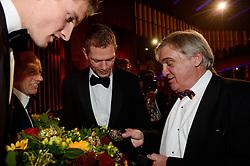 17-12-2013 ALGEMEEN: SPORTGALA NOC NSF 2013: AMSTERDAM<br /> In de Amsterdamse RAI vindt het traditionele NOC NSF Sportgala weer plaats. Op deze avond zullen de sportprijzen voor beste sportman, sportvrouw, gehandicapte sporter, talent, ploeg en trainer worden uitgereikt / (L-R) Robert Meeuwsen, Gerard Kemkers, Alexander Brouwer en Andre Bolhuis<br /> ©2013-FotoHoogendoorn.nl