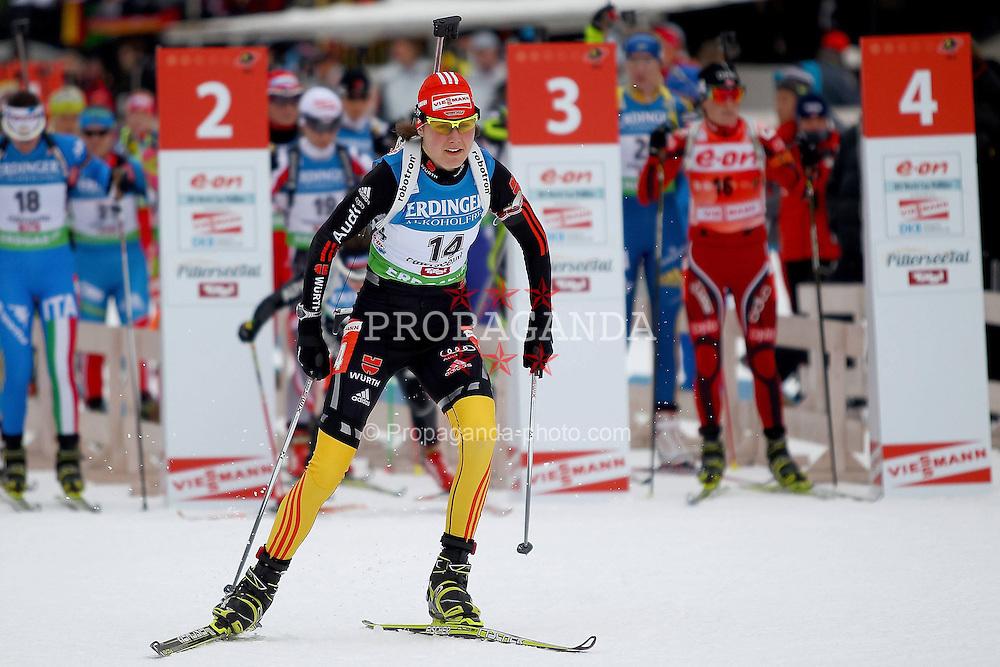 10.12.2011, Biathlonzentrum, Hochfilzen, AUT, E.ON IBU Weltcup, 2. Biathlon, Hochfilzen, Verfolgung Damen, im Bild Bachmann Tina (GER) // during E.ON IBU World Cup 2th Biathlon, Hochfilzen, Austria on 2011/12/10. EXPA Pictures © 2011. EXPA Pictures © 2011, PhotoCredit: EXPA/ nph/ Straubmeier..***** ATTENTION - OUT OF GER, CRO *****