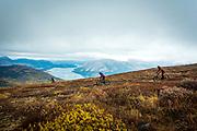 Biking on Mountain Hero