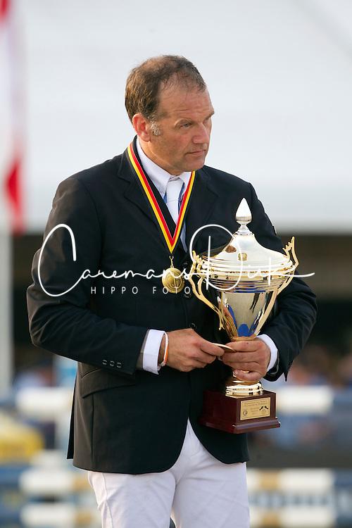 Van Roosbroeck Maurice (BEL)<br /> Belgisch Kampioenschap Jumping - Lanaken 2011<br /> &copy; Dirk Caremans