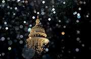 Rain pelts the Texas State Capitol as a round of thunderstorms drench Austin on Thursday, Oct. 24, 2019. Rain gauges on the south side of the city recorded five inches of rainfall in a span of three hours. The heavy rain flooded roads and led to multiple rescue responses by emergency services. NICK WAGNER / AMERICAN-STATESMAN