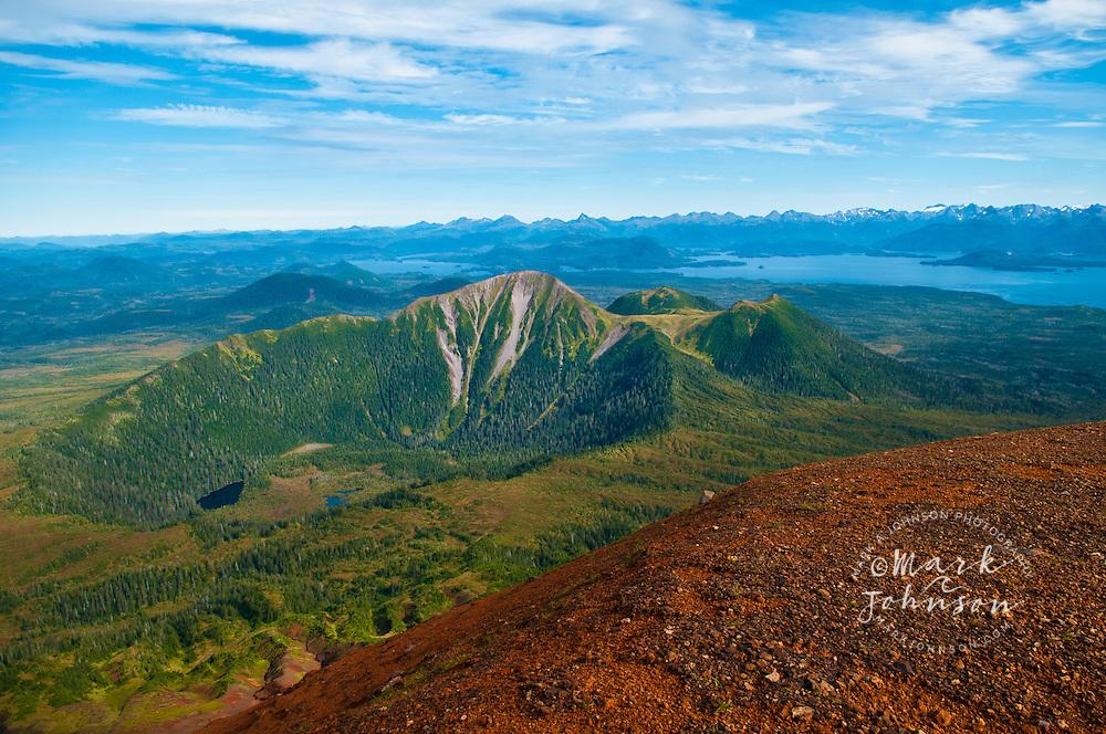 Mt. Edgecumbe, Kruzof Island, Southeast Alaska