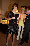 Petronella Wyatt and Basia Briggs. Book party for LAST VOYAGE OF THE VALENTINA by Santa Montefiore (Hodder & Stoughton) Asprey,  New Bond St. 12 April 2005. ONE TIME USE ONLY - DO NOT ARCHIVE  © Copyright Photograph by Dafydd Jones 66 Stockwell Park Rd. London SW9 0DA Tel 020 7733 0108 www.dafjones.com