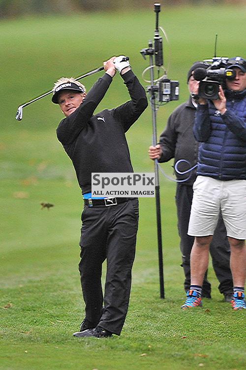 Soren Kjeldsen Denmark, British Masters, European Tour, Woburn Golf Course Friday 9th October 2015.