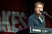 Green Bay Rock the Lakes festival Aug. 19. Michael W. Smith performs. (Sam Lucero | The Compass)