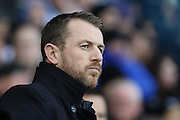 Birmingham City FC manager Gary Rowett during the Sky Bet Championship match between Derby County and Birmingham City at the iPro Stadium, Derby, England on 16 January 2016. Photo by Aaron Lupton.
