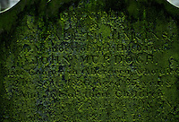 Gravestone in Aberdeen, Scotland. 19th Century