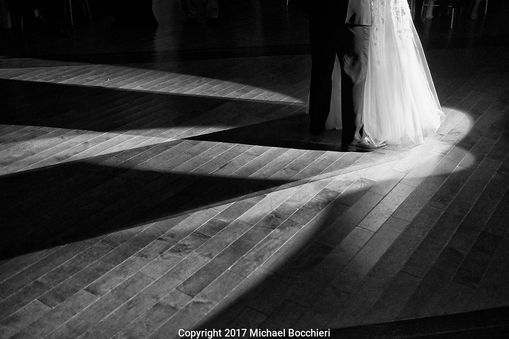 Whitehouse Station, NJ - November 04:  Wedding between Ally Hausner and Cesar Rainho at the Ryland Inn on November 04, 2017 in Whitehouse Station, NJ.  (Photo by Michael Bocchieri/Bocchieri Archive)
