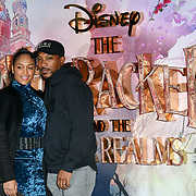 Danielle Isaie and Ashley Walters attend The Nutcracker and the Four Realms - UK premiere at Vue Westfield, Westfield Shopping Centre, Ariel Way on 1st Nov 2018, London, UK.