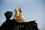 Goldener Reiter, Neustadt, Dresden, Sachsen, Deutschland | golden rider, Neustadt, Dresden, Saxony, Germany,