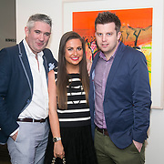 No Repro Fee<br /> 02/04/2015<br /> Pictured at the Spinal Injuries Ireland Lunch at the Marker Hotel, Dublin were<br /> Stephen Kelly (left), Emily O&rsquo;Donnell and Sean Fitzpatrick.<br /> Pic: Alan Rowlette