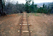 Goldmine Tracks, Julian, CA: A large portfolio of CA Ruins was published in California Magazine, 1982. This is the director's cut.