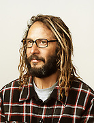 Skateboarding legend Tony Alva, photographed in San Diego, CA.