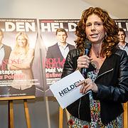NLD/Amsterdam/20160202 - Lancering Helden magazine, Barbara Barend