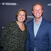 NLD/Amsterdam/20171018 - Premiere De Verleiders: Stem Kwijt, Arne Weverling en partner