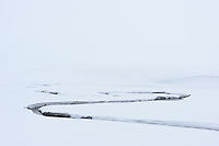 Flussschlaufe im Yellowstone Nationalpark, USA
