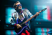 CHICAGO, IL - AUGUST 03: Matt Bellamy of Muse performs at Grant Park on August 3, 2017 in Chicago, Illinois. (Photo by Michael Hickey/Getty Images) *** Local Caption *** Matt Bellamy