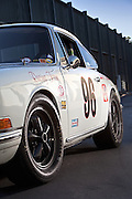 Image Bruce O'Neil's 1965 Porsche 911 Trans Am racecar at Sonoma Raceway, California, America west coast, property released