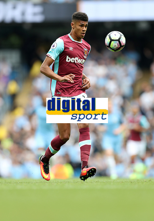 Football - Ashley Fletcher of West Ham United during the match at the Etihad Stadium between Manchester City and West Ham United. <br /> <br /> 2016 / 2017 Premier League - Manchester City vs. West Ham United<br /> <br /> -- at The Etihad Stadium.<br /> <br /> COLORSPORT/LYNNE CAMERON