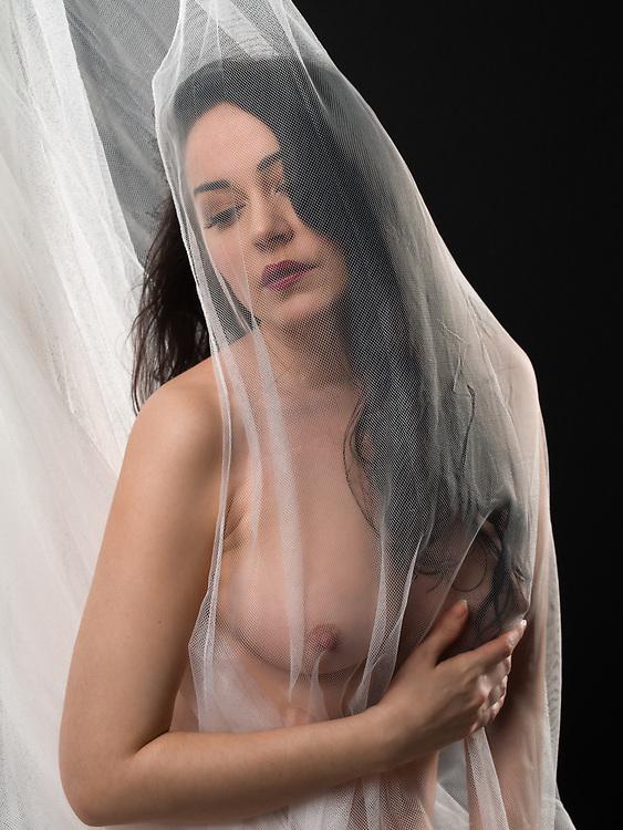 With Araina Nespiak; model/makeup/hair