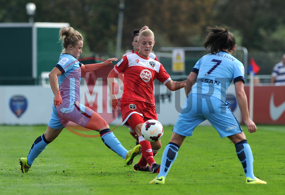 Bristol Academy Womens' Sophie Ingle - Photo mandatory by-line: Dougie Allward/JMP - Mobile: 07966 386802 - 28/09/2014 - SPORT - Women's Football - Bristol - SGS Wise Campus - Bristol Academy Women's v Manchester City Women's - Women's Super League