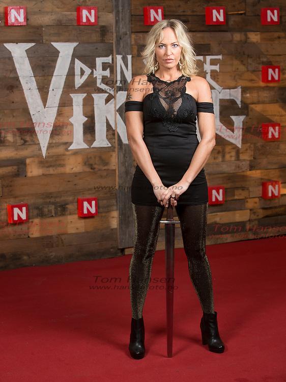 OSLO,  20140210:  Den siste Viking er en ny realityserie fra TVNorge. Maybritt Dale.  FOTO: TOM HANSEN