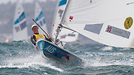 ENGLAND, Weymouth. 4th August 2012. Olympic Games. Laser Class. Tom Slingsby (AUS).