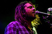 Seether performing at the Blossom Music Center in Cleveland, OH on the Uproar Tour on September 21, 2011