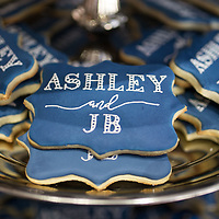 JB & Ashley Auburn Wedding reception